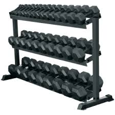 york weights. york hex rubber dumbbells full set 2.5kg \u2013 35kg (14 pairs) with 3 weights