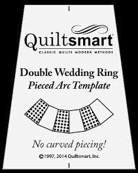 Template for Double Wedding Ring Pieced Arcs - Quiltsmart - Online ... & Template for Double Wedding Ring Pieced Arcs Adamdwight.com