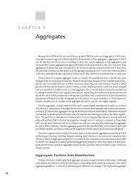 Bitumen Sand Mix Design Chapter 4 Aggregates A Manual For Design Of Hot Mix