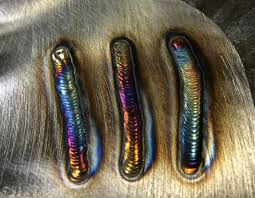 Stainless Steel Weld Color Chart Colors In Welds And What They Mean