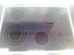 kitchen aid glass cooktop repair top stove scratches