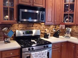 Stone Kitchen Affordable Kitchen Backsplash Ideas Kitchen Together With Stone