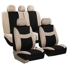 light breezy flat cloth seat covers full set