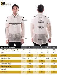 Size Charts Barong Warehouse