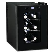 igloo 6 bottle countertop wine cooler fridge digital temperature control