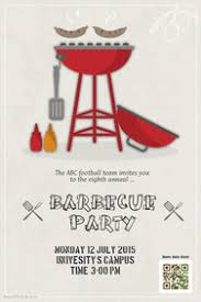 cookout fundraiser flyers barbecue poster templates postermywall