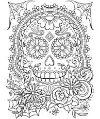 Our coloring pages require the free adobe acrobat reader. Dia De Los Muertos Mexico Day Of The Dead Free Coloring Pages Crayola Com