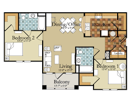 Download Floor Plan For 2 Bedroom Flat  WaterfaucetsApartments Floor Plans 2 Bedrooms