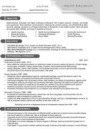 Targeted Resume Template Word Best of Targeted Resume Template Samples Types Of Formats