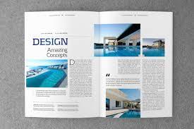 Indesign Magazine Templates Indesign Magazine Template V 02 By Shafura Thehungryjpeg Com