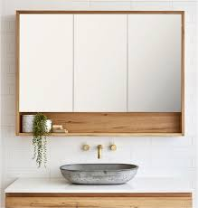 wall mount bathroom cabinet. Wall Mounted Bathroom Cabinets Ideas Loughlin Furniture Timber Shaving Cabinet With 3 Doors And Niche Mount