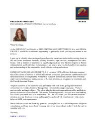 Guatemala Remsa Welcome Letter Business Premises Commercial With