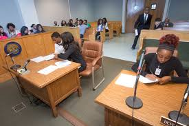 Cases tried at teen court