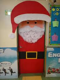 christmas classroom door decorations. Santa Classroom Door Decoration For Christmas Decorating Ideas Decorations