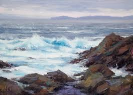 matt smith plein air artist landscape painter of the american west california coast arizona dessert rocky mountains waterhouse gallery santa barbara