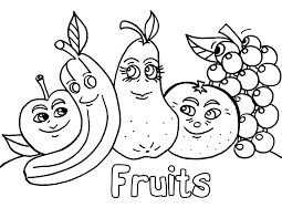 Coloring Page Fruit Fruit Of The Spirit Peace Coloring Page Fruit Of