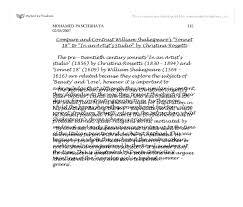 sonnet shakespeare essay topic essay help online essay  sonnet 18 by william shakespeare essay example for