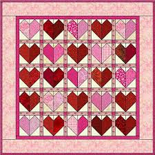 20 Easy Quilt Patterns for Beginning Quilters & Easy Hearts Quilt Patterns Adamdwight.com