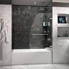 Bathroom Sliding Glass Doors Design Ideas Bathroom Contemporary Dreamline Shower Door For Your