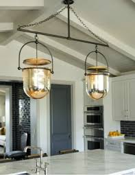 lighting in kitchens. iron and glass light fixture lighting in kitchens