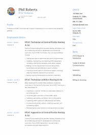 Hvac Technician Resume Examples - Solarfm.tk