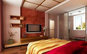 modern bedroom with tv.  Bedroom 15 Loving Bedroom Tv Wall Design On A Budget In Modern With