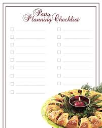 Party Planning Lists Holiday Party Planning Checklist Sheknows
