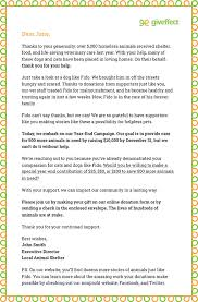 7 Great Year-End Appeal Letter Tips [With Free Samples!] | Giveffect ...