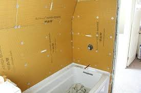 sheen tiling a shower wall i mention this in the but cement board or are sheen tiling a shower wall