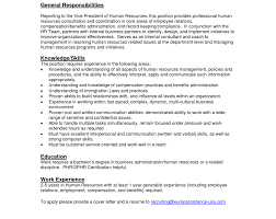 Hr Generalist Resumes business plan templates sample small ...