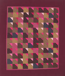 51 best Amish Quilts images on Pinterest   Amish quilts, Antique ... & Burgundy & Brown Wall Quilt Throw Lap Quilt by KarenGriskaQuilts Adamdwight.com