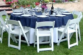 how to choose the right table linen size for your wedding or event 108 round navy