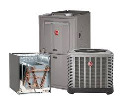rheem gas heaters. rheem 1.5 ton 14 seer ac system with 80% 50k btu natural gas furnace heaters