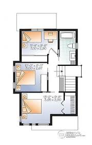 tiny house plan. 2nd Level Comfortable \u0026 Small 976 Sq.ft. Tiny House Plan, 3 Bedrooms Plan
