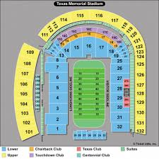Texas Dkr Memorial Stadium Seating Chart Dkr Stadium Map Area Code Map Dkr Texas Memorial Stadium