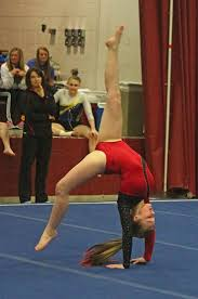 floor gymnastics moves. Lady Viking Sophomore Danielle Korporal Competes On The Floor Exercise At Concordia Lutheran Gymnastics Sectional Moves