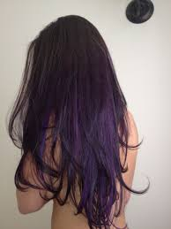 Dark Purple Ombre Hair I Would