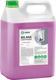 <b>Жидкое мыло Grass Milana</b> крем-мыло, черника в йогурте, 5 л ...