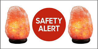 Recall On Himalayan Salt Lamp Fascinating Himalayan Rock Salt Lamps Recalled Due To Fire Risk Dangers Of