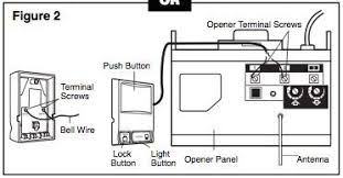 garage door wireChamberlain Garage Door Opener Wiring Diagram  Periodic