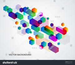 Stock Vector Colorful Abstract Background Design