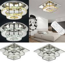 Decken Deckenlampe Kristall Deckenleuchte Led Licht