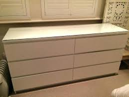 ikea malm dresser white dressing table dear lord the cheese before and after stained oak 6 ikea malm dresser
