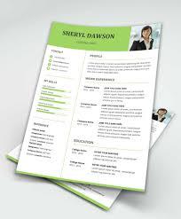 Star Free Modern Resume Template Word Maxresumes