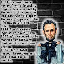 Abraham Lincoln Quotes On Life Abraham Lincoln Quotes overcomming Failures 83