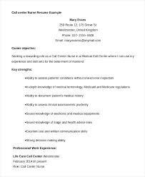Sample Resume For A Call Center Agent Sample Resume For Call Center Iamfree Club