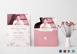 Invitation Cards Designs For Retirement Party Honored Retirement Party Invitation Card Template