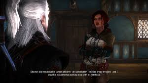 Tattoo And Nose Stud Triss At The Witcher 2 Nexus Mods And Community