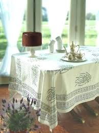white tablecloth french tablecloths country cotton saffron marigold 70 inch round