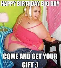 Sexy happy birthday girl